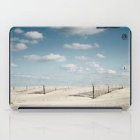north carolina iPad Cases featuring North Carolina - Beach by Jon Cain