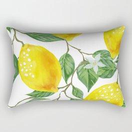 TROPICAL LEMON TREE Rectangular Pillow