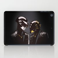 daft punk iPad Cases featuring DAFT PUNK by Gregory Casares