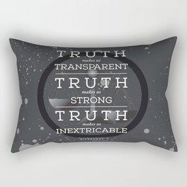 Candor Manifesto Rectangular Pillow