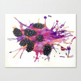 Blackberry Explosion Canvas Print