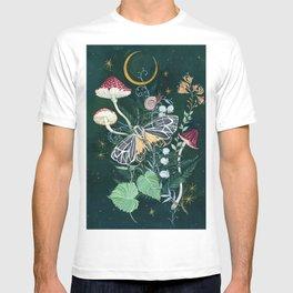 Mushroom night moth T-shirt