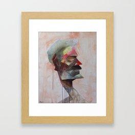 Drowsy Portraits - Bugged Framed Art Print