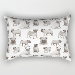 The Darkest Dark - Albert Rectangular Pillow