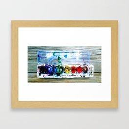 forrest's paint Framed Art Print