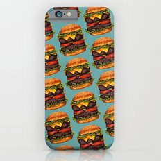 Double Cheeseburger Pattern Slim Case iPhone 6s