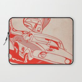 Vintage Australian Motorsport Poster 1972 Laptop Sleeve