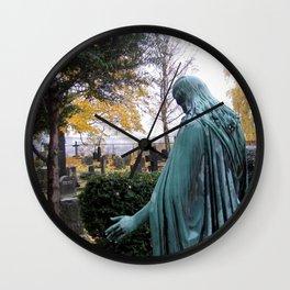 "Dietro la chiesa (Oslo) ""A SAFE PLACE"" series Wall Clock"