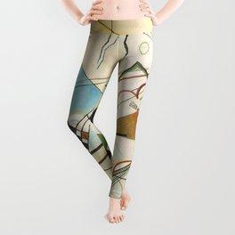 Vassily Kandinsky's Composition VIII Leggings
