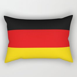 Basic Germany Deutschland Flag Rectangular Pillow