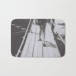 the unhurried walker Bath Mat