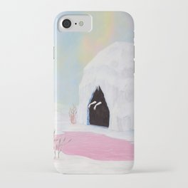 Lady of the Pink Lake iPhone Case