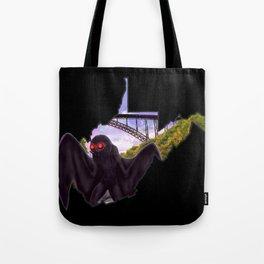 Wild and Wonderful Mothman Tote Bag