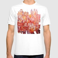 august Mens Fitted Tee White MEDIUM