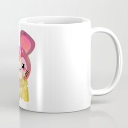 Kawaii Cheese Mouse Coffee Mug