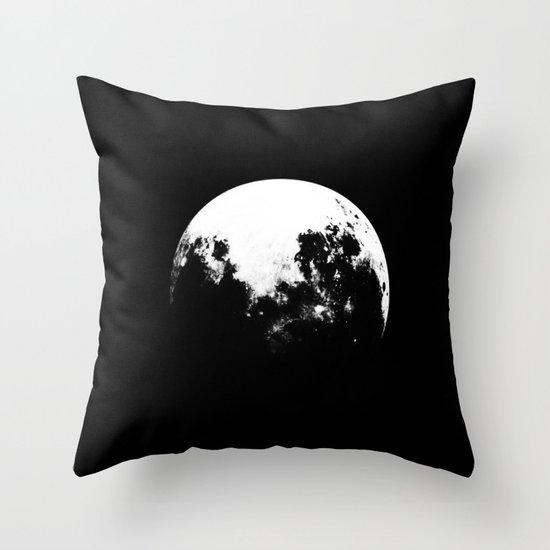 MOOON Throw Pillow