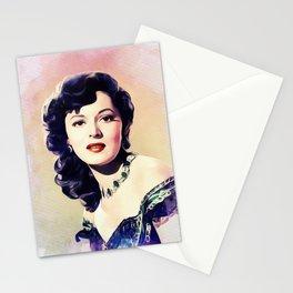 Lorna Gray, Vintage Actress Stationery Cards