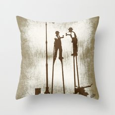 Higher level of sobriety Throw Pillow
