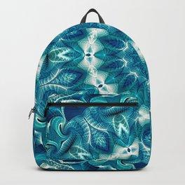 Flower Of Life Mandala (Ocean's Secret) Backpack