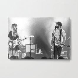 Angus And Julia Stone Metal Print