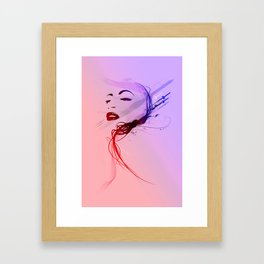 Headflux Framed Art Print