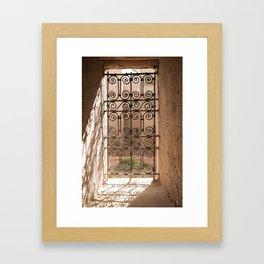 Windows of the World - Morocco II Framed Art Print