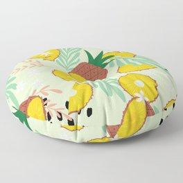 Pineapple pattern 03 Floor Pillow