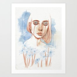 Tuned in Nature Art Print