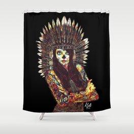 WAR FACE Shower Curtain