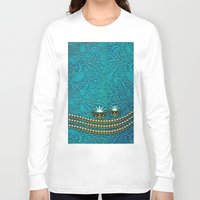 decorative Long Sleeve T-shirts featuring Decorative design by nicky2342