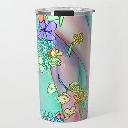 Flower Bath 2 Travel Mug