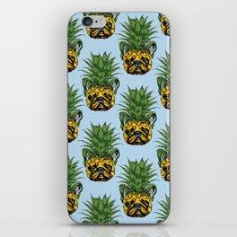 Pineapple French Bulldog iPhone Skin