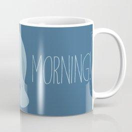 Silly Bearded Manatee Coffee Mug