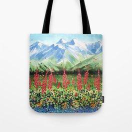 Glacier Valley Tote Bag