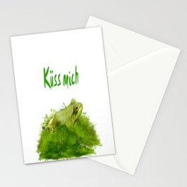 Küss mich Stationery Cards