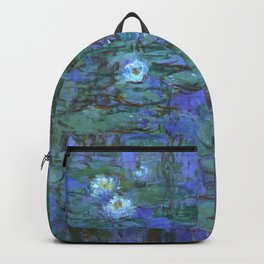 "Claude Monet ""Water Lilies"" (7) Backpack"
