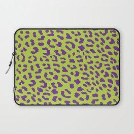 Leopard skin neon green Laptop Sleeve