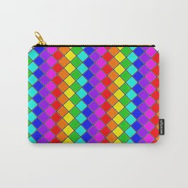 Geo (Rainbow) Carry-All Pouch