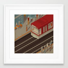 Habitat 24 Framed Art Print