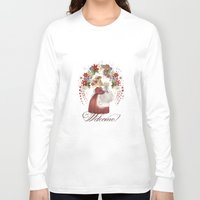 welcome Long Sleeve T-shirts featuring Welcome! by I TOPI DI CICE