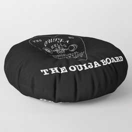 Call Me On The Ouija Board Floor Pillow