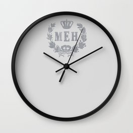 Le Royal Meh Wall Clock