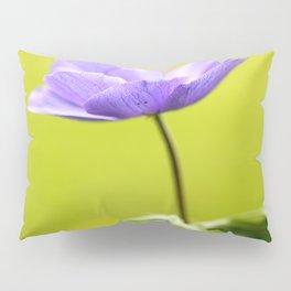 Purple Anemone Natural Green Background #decor #society6 #buyart Pillow Sham
