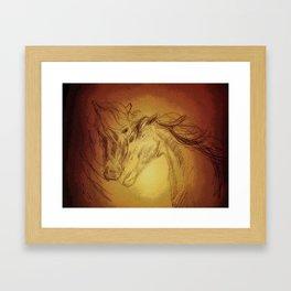 Horse Play II Framed Art Print