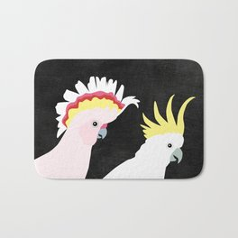 Cockatoos by Mount Vic and Me Bath Mat