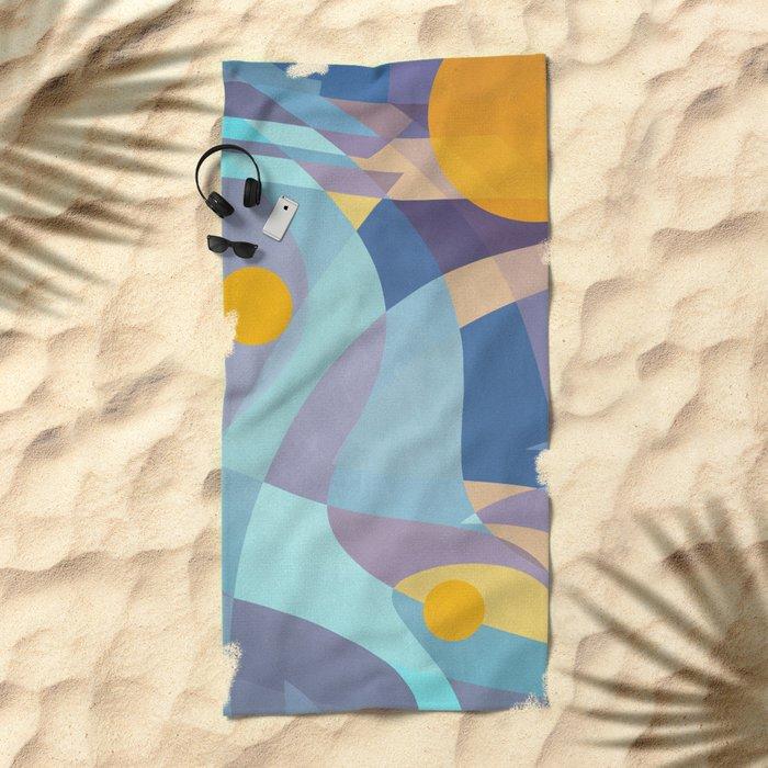 Sun is Life Beach Towel