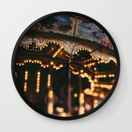 Merry Go Round Wall Clock