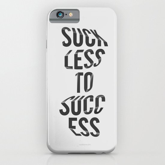 Suck Less iPhone & iPod Case