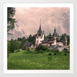 Peles Castle Romania Art Print