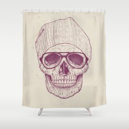 Cool skull Shower Curtain